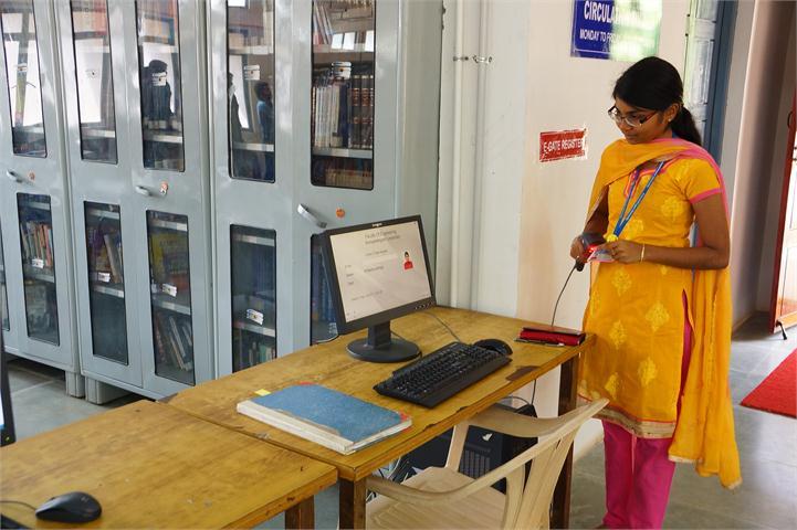 Faculty of engineering Library Avinashilingam Unviversity Coimbatore