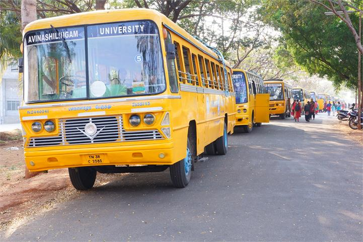 Faculty of engineering transportation Avinashilingam Unviversity Coimbatore