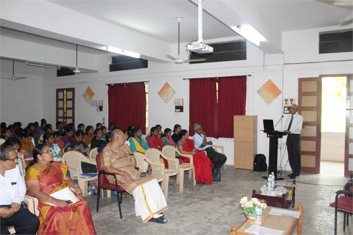 Faculty of engineering auditorium Avinashilingam Unviversity Coimbatore